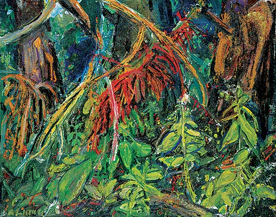 #76 ~ Lismer - Tangle of the Forest, B.C.