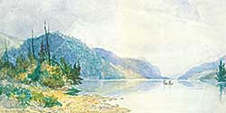 #11 ~ Bell-Smith - On the Nipigon River
