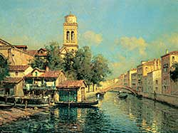 #301 ~ Bouvard - Untitled - Venetian Canal