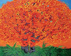#209 ~ Hofmann - Flame Tree