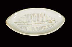 #452 ~ Lindoe - Untitled - Abstract Fish Platter